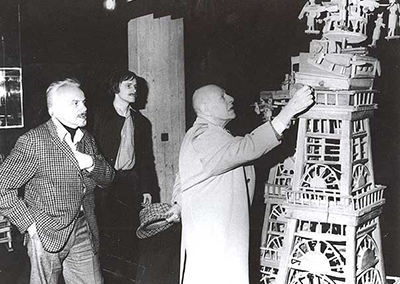 Slavko Kopac, Michel Thévoz og Jean Dubuffet