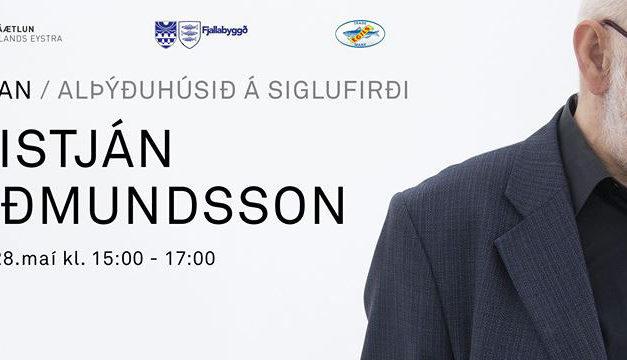 Kristján Guðmundsson í Kompunni