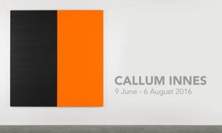 CALLUM INNES | 9 June – 6 August 2016