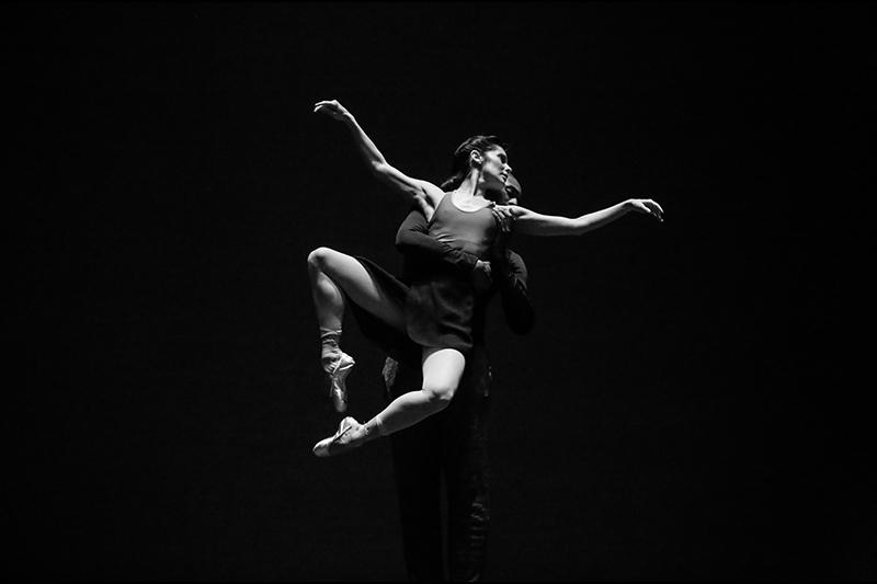 Frá æfingu San Francisco ballettsins í Hörpu
