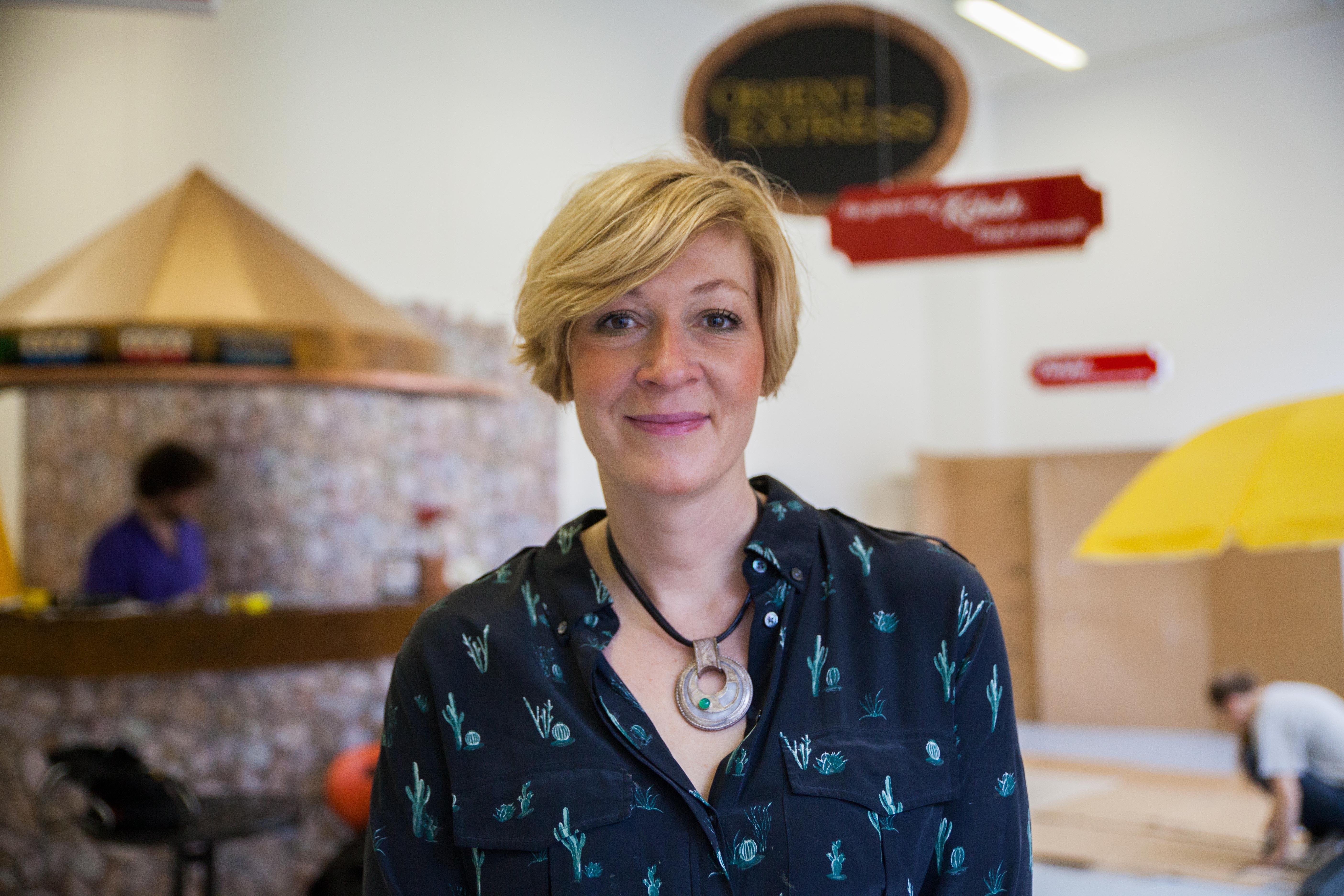 The diverse positions of curator Solvej Helweg Ovesen