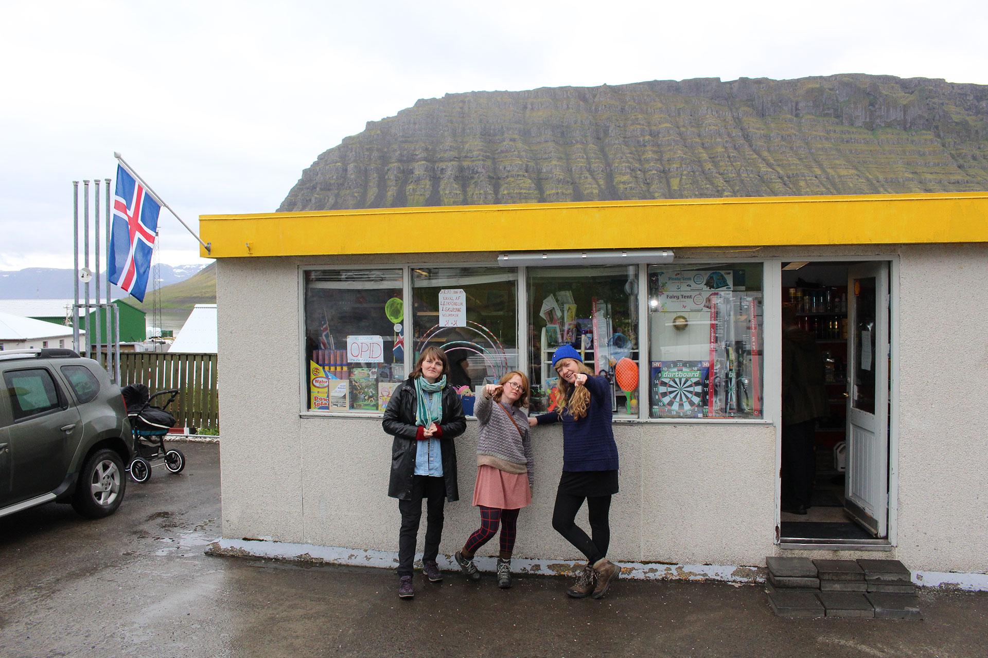 Í og við…þennan stað