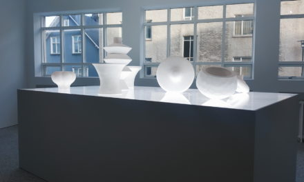 Rósa Gisladóttir's Mesh of Material and Light