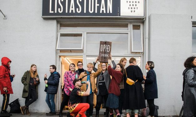 The last exhibition at Listastofan: a conversation with founder Martyna Daniel