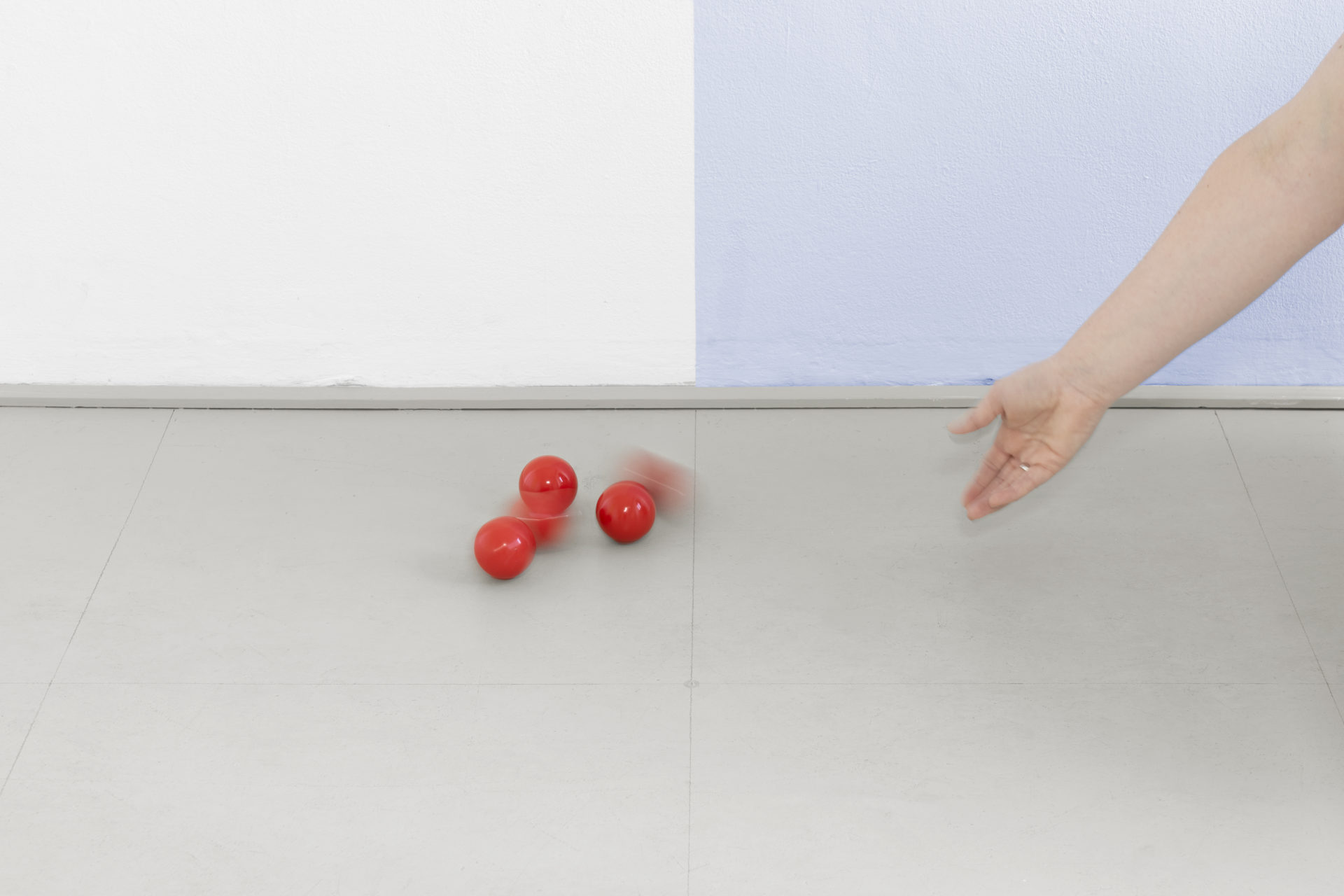 """You are the Input"" by Ingunn Fjóla Ingthorsdóttir at Gallerie Herold, Bremen"