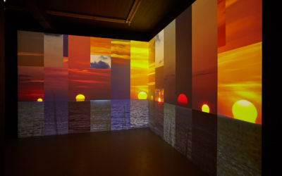 """""""Kiss the day goodbye"""" by Charles Atlas at i8 gallery"""