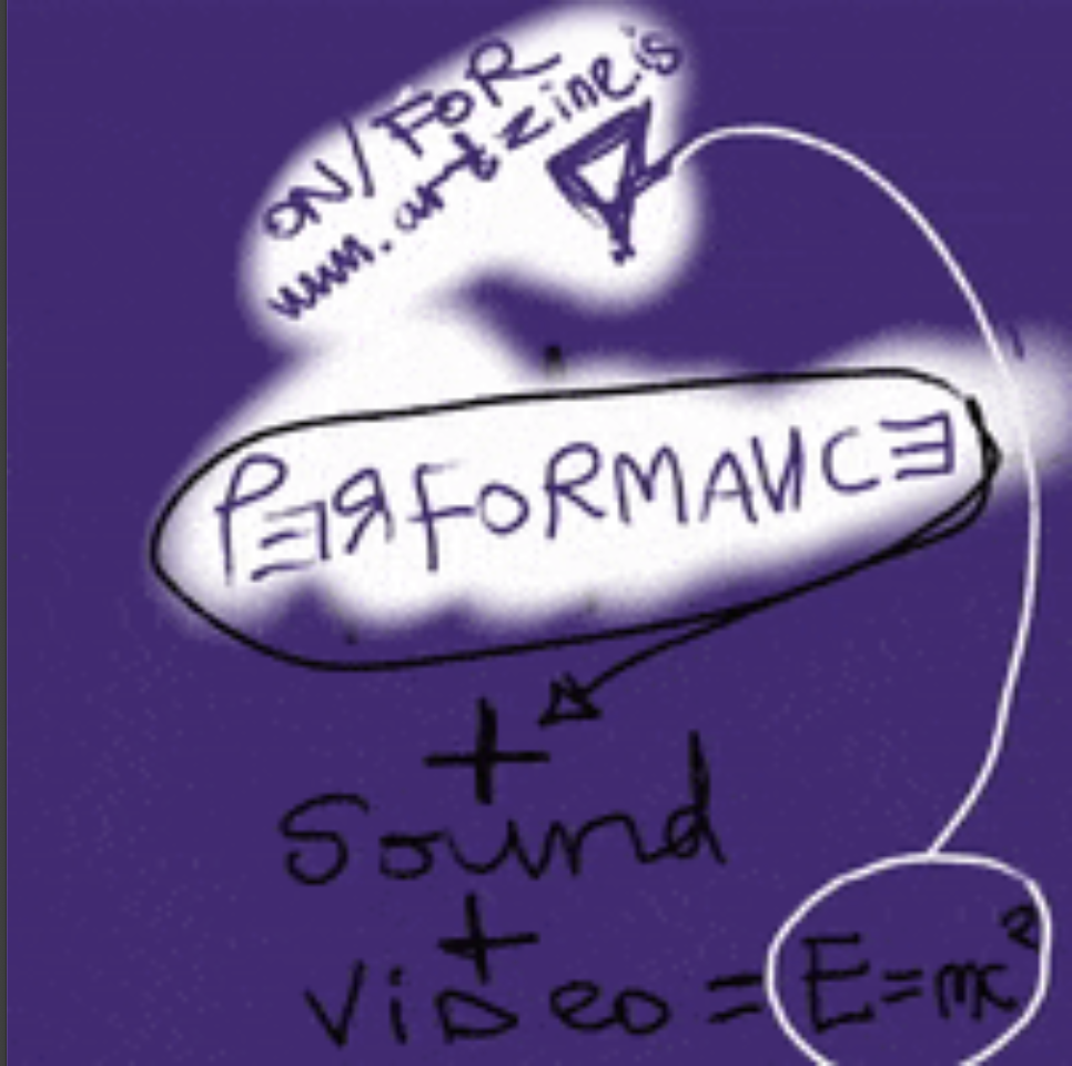 #1 session of performances with sound and video for E = mc²